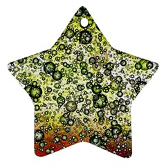 Chaos Background Other Abstract And Chaotic Patterns Star Ornament (Two Sides)