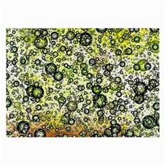 Chaos Background Other Abstract And Chaotic Patterns Large Glasses Cloth (2-Side)