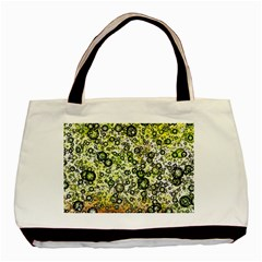Chaos Background Other Abstract And Chaotic Patterns Basic Tote Bag (two Sides)