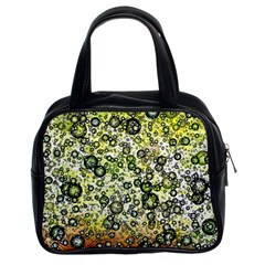 Chaos Background Other Abstract And Chaotic Patterns Classic Handbags (2 Sides)