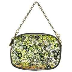 Chaos Background Other Abstract And Chaotic Patterns Chain Purses (one Side)