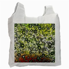 Chaos Background Other Abstract And Chaotic Patterns Recycle Bag (Two Side)