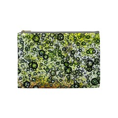 Chaos Background Other Abstract And Chaotic Patterns Cosmetic Bag (Medium)
