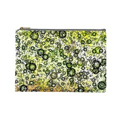 Chaos Background Other Abstract And Chaotic Patterns Cosmetic Bag (Large)