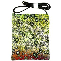 Chaos Background Other Abstract And Chaotic Patterns Shoulder Sling Bags