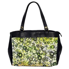 Chaos Background Other Abstract And Chaotic Patterns Office Handbags (2 Sides)