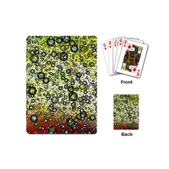Chaos Background Other Abstract And Chaotic Patterns Playing Cards (Mini)
