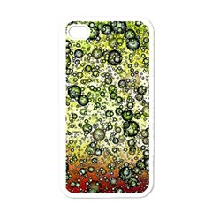 Chaos Background Other Abstract And Chaotic Patterns Apple iPhone 4 Case (White)