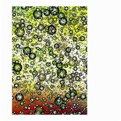 Chaos Background Other Abstract And Chaotic Patterns Small Garden Flag (two Sides)