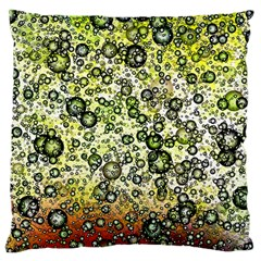 Chaos Background Other Abstract And Chaotic Patterns Large Cushion Case (one Side)