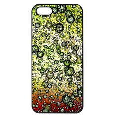 Chaos Background Other Abstract And Chaotic Patterns Apple Iphone 5 Seamless Case (black)