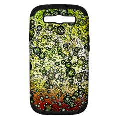 Chaos Background Other Abstract And Chaotic Patterns Samsung Galaxy S III Hardshell Case (PC+Silicone)