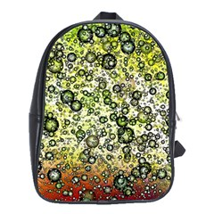 Chaos Background Other Abstract And Chaotic Patterns School Bags (XL)