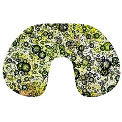 Chaos Background Other Abstract And Chaotic Patterns Travel Neck Pillows