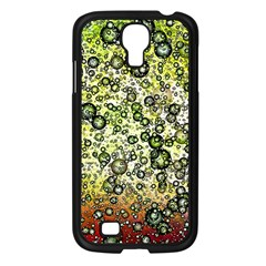 Chaos Background Other Abstract And Chaotic Patterns Samsung Galaxy S4 I9500/ I9505 Case (Black)