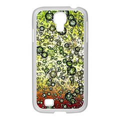 Chaos Background Other Abstract And Chaotic Patterns Samsung GALAXY S4 I9500/ I9505 Case (White)