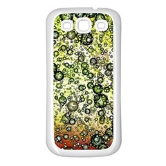 Chaos Background Other Abstract And Chaotic Patterns Samsung Galaxy S3 Back Case (White)