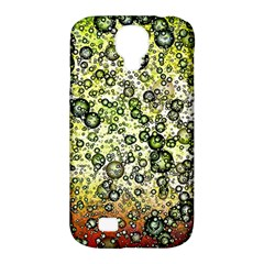 Chaos Background Other Abstract And Chaotic Patterns Samsung Galaxy S4 Classic Hardshell Case (PC+Silicone)