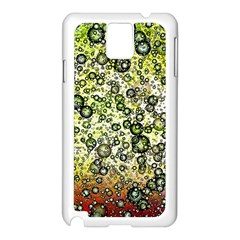 Chaos Background Other Abstract And Chaotic Patterns Samsung Galaxy Note 3 N9005 Case (white)