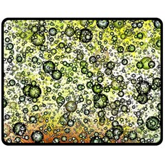 Chaos Background Other Abstract And Chaotic Patterns Double Sided Fleece Blanket (medium)