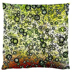 Chaos Background Other Abstract And Chaotic Patterns Large Flano Cushion Case (Two Sides)