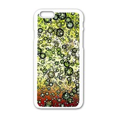 Chaos Background Other Abstract And Chaotic Patterns Apple Iphone 6/6s White Enamel Case