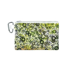Chaos Background Other Abstract And Chaotic Patterns Canvas Cosmetic Bag (S)