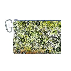 Chaos Background Other Abstract And Chaotic Patterns Canvas Cosmetic Bag (m)