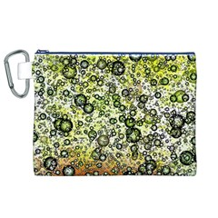 Chaos Background Other Abstract And Chaotic Patterns Canvas Cosmetic Bag (XL)