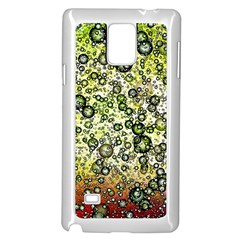 Chaos Background Other Abstract And Chaotic Patterns Samsung Galaxy Note 4 Case (White)