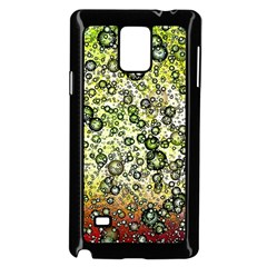 Chaos Background Other Abstract And Chaotic Patterns Samsung Galaxy Note 4 Case (Black)