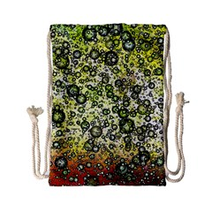 Chaos Background Other Abstract And Chaotic Patterns Drawstring Bag (small)