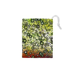 Chaos Background Other Abstract And Chaotic Patterns Drawstring Pouches (XS)