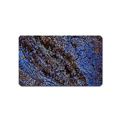 Cracked Mud And Sand Abstract Magnet (name Card)