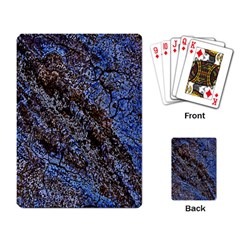 Cracked Mud And Sand Abstract Playing Card