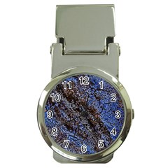 Cracked Mud And Sand Abstract Money Clip Watches