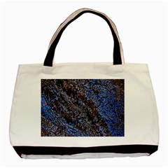 Cracked Mud And Sand Abstract Basic Tote Bag