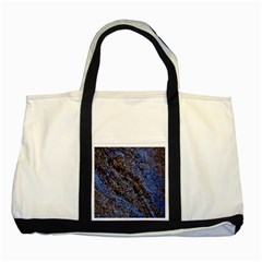 Cracked Mud And Sand Abstract Two Tone Tote Bag