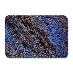 Cracked Mud And Sand Abstract Plate Mats