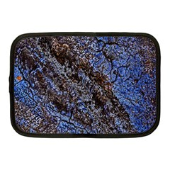 Cracked Mud And Sand Abstract Netbook Case (Medium)