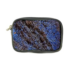 Cracked Mud And Sand Abstract Coin Purse