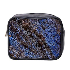 Cracked Mud And Sand Abstract Mini Toiletries Bag 2-Side