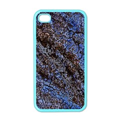 Cracked Mud And Sand Abstract Apple iPhone 4 Case (Color)