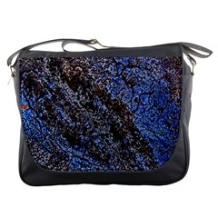 Cracked Mud And Sand Abstract Messenger Bags