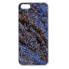 Cracked Mud And Sand Abstract Apple Seamless iPhone 5 Case (Clear)