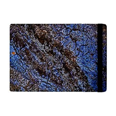 Cracked Mud And Sand Abstract Apple iPad Mini Flip Case