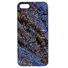 Cracked Mud And Sand Abstract Apple iPhone 5 Hardshell Case with Stand