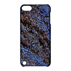 Cracked Mud And Sand Abstract Apple Ipod Touch 5 Hardshell Case With Stand