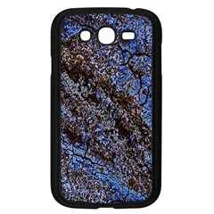 Cracked Mud And Sand Abstract Samsung Galaxy Grand Duos I9082 Case (black)