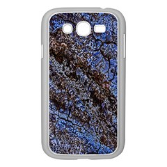 Cracked Mud And Sand Abstract Samsung Galaxy Grand DUOS I9082 Case (White)